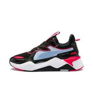 Puma-Women-039-s-RS-X-Sci-Fi-Running-Shoes-NEW-AUTHENTIC-Black-Pink-369913-02