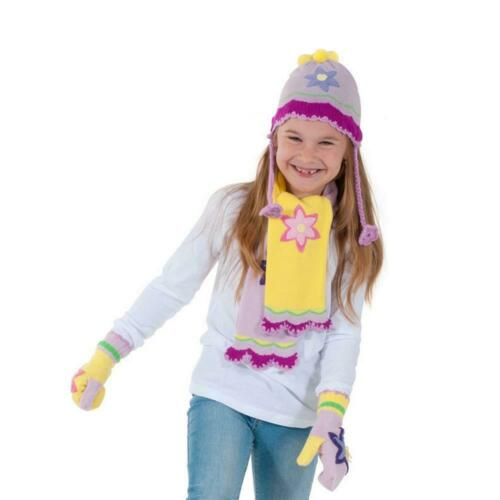 Kidorable Lotus Flower Knitwear Kids Childrens Girls Knitted Winter Accessories