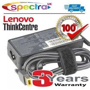 Autentico Originale Lenovo ThinkCentre Tiny PC Desktop 65w AC Adattatore Cavo di alimentazione