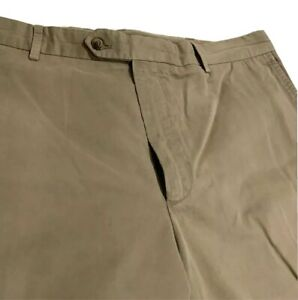 Loro Piana Algodon Frente Plano Pantalones Tipo Chino Informal Disenador Para Hombre 58 38 Ee Uu Ebay