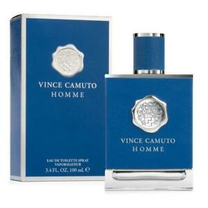 VINCE CAMUTO HOMME cologne men 3.3 / 3.4 oz EDT New in Box