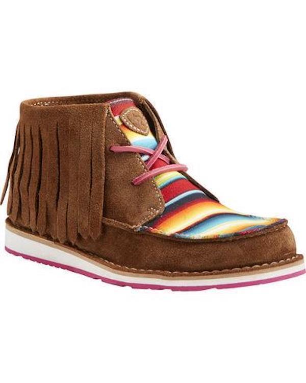Ariat Women's Serape Fringe Cruiser Chukka shoes 10021578  CLOSE OUT SALE