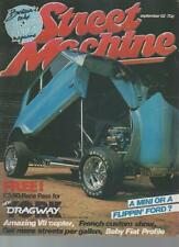 STREET MACHINE MAGAZINE  SEPTEMBER 1982 VOL.4 NO.5  NEIL FENN'S MINI    LS