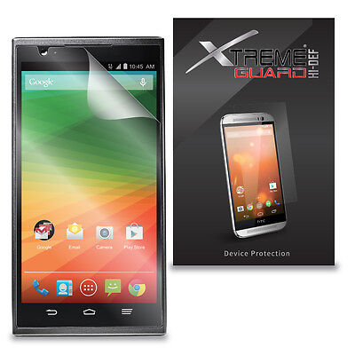 6-Pack Clear HD XtremeGuard HI-DEF Screen Protector Skin Cover For ZTE ZMax Z970