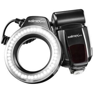 walimex-pro-Makro-LED-Ringlicht-Ringleuchte-mit-44-LED-mit-beleuchteter-Anzeige