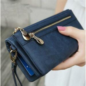 Womens-Fashion-Leather-Clutch-Zipper-Wallet-Long-PU-Card-Holder-Purse-Handbag-S