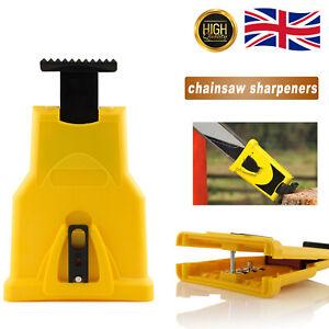 Chain Sharpening Kit Chainsaw Teeth Sharpener Saw Chain Bar Grinding Tool