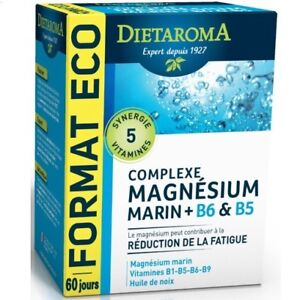 DIETAROMA-MAGNESIUM-MARIN-B6-B5-120-CAPSULES