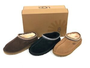 6403bf13ea3 Details about Ugg Australia KIDS Tasman Multiple Colors Chestnut Black  Chocolate 5252 Slippers