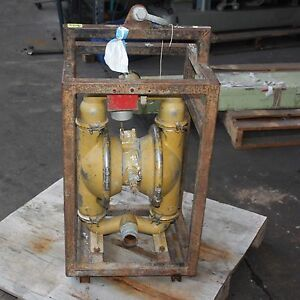 Details about Wilden Pump 8 air operated double diaphragm stainless steel  body 2 5