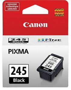Genuine OEM PG245 PG 245 Black Ink cartridge for Cannon  Pixma Printer Wireless