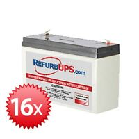 Exide Netups Se 2000 Rm (se2000rm) - Compatible Replacement Battery Kit
