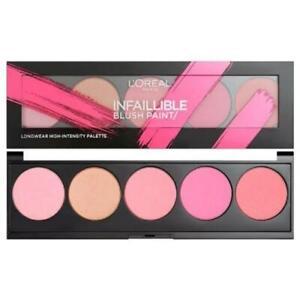 3x L'Oréal infallibile Vernice Blush Paris tavolozza 10g-Rosa