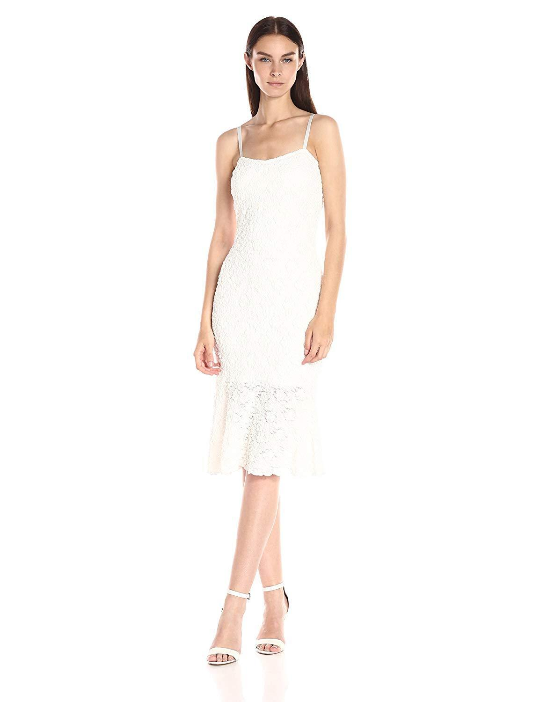 French Connection Havana Ruffle-Trim Lace Dress  Sz 4 - NWT