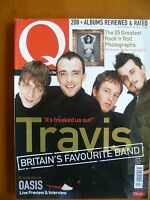 Q Magazine, February 2000 - Travis, Robert Smith, Henry Rollins etc