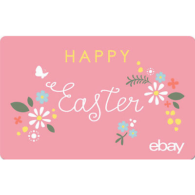 eBay eGift Card - Happy Easter $25 $50 $100 or $200 - Via Email