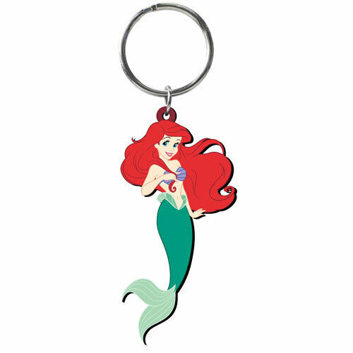 Disney/'s The Little Mermaid Ariel Soft Touch Keychain!