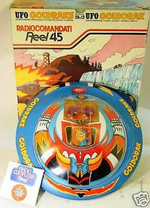 oroRAKE UFO ROBOT - DISCO VOLANTE MOVIMENTO MISTERO - REEL 1978-MADE IN ITALY