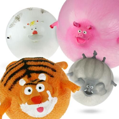 Ballons zum Aufpusten in Tierform Tierballons zum Aufpusten im 4er Set