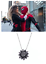 MJ-Gift-The-Black-Dahlia-Necklace-Spider-Man-Far-From-Home-Cosplay-Prop-Jewelry thumbnail 2