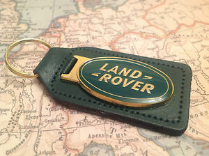LAND ROVER COLLECTABLE BN REAL LEATHER GENUINE DEFENDER BLACK CHROME DISCOVERY