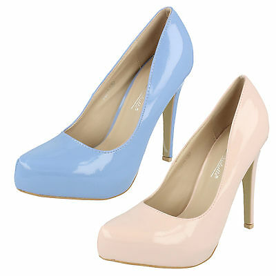 Mujer REBAJAS Anne Michelle Charol Sin Cordones Zapatos de salón f9775