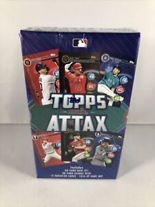 2020 Topps MLB Attax Starter Box - Factory Sealed - 60 Cards + 2 Variation Cards