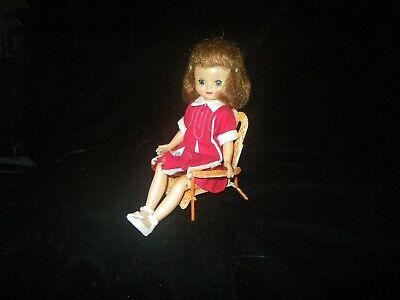 "American Character 8/""Betsy McCall Original Vtg 1950/'s Blue//White Stripe SUNSUIT"
