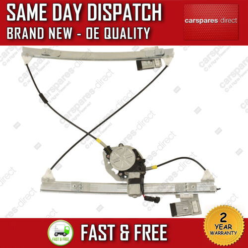 VW CADDY MK2 1995/>04 FRONT LEFT SIDE ELECTRIC WINDOW REGULATOR WITH 2 PIN MOTOR