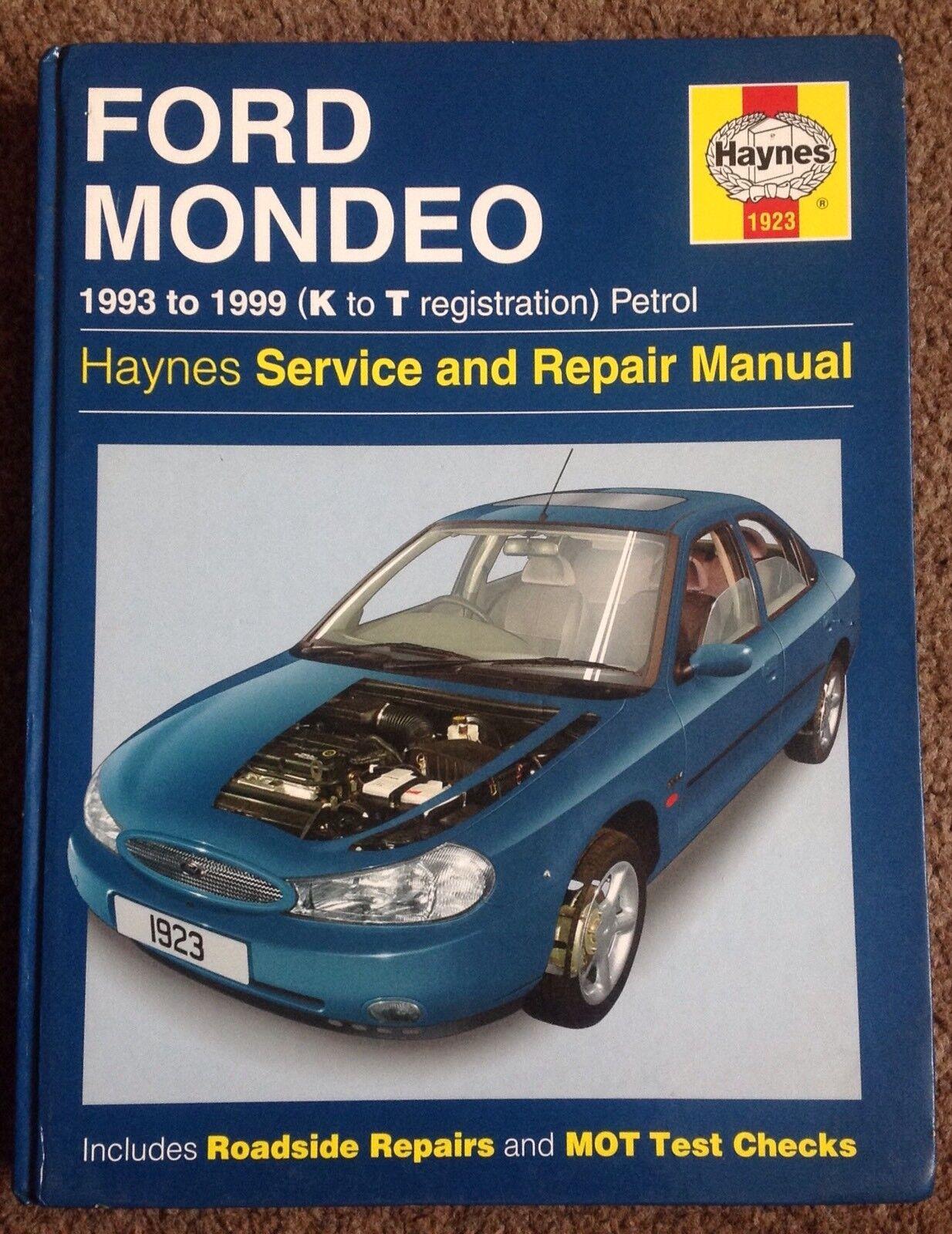 Haynes Ford MONDEO 1993 to Sept 2000 Petrol Service and Repair Manual | eBay