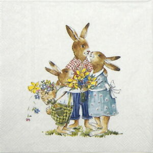 4x-Paper-Napkins-for-Decoupage-Easter-Family