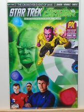 Star Trek Green Lantern PX Previews SDCC 2015 Variant IDW Comics  CB6436