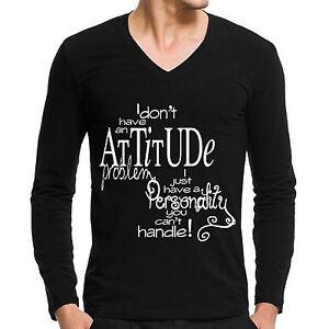 Vneck-tshirts-Attitude-Problem-Full-sleeve-designer-tees-for-mens