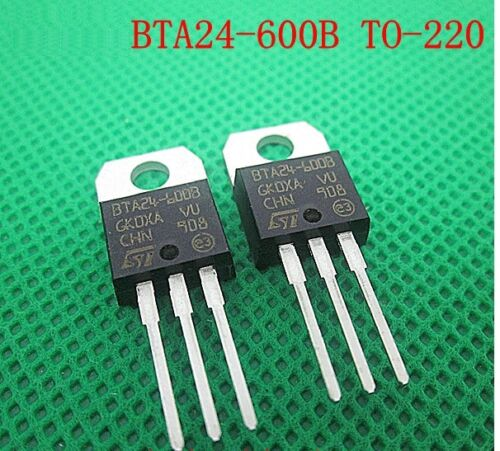 5PCS BTA24-600B BTA24 TRIAC 600V 25A TO-220AB NEW