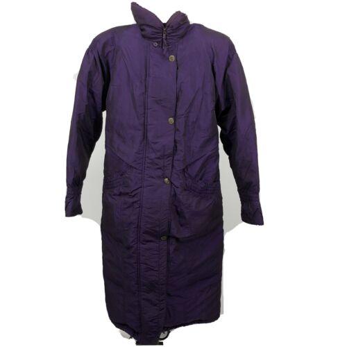 VTG Charles Klein Rare Purple Iridescent Puffer Tr