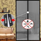 Mesh Insect Fly Bug Mosquito Door Curtain Net Netting Mesh Screen Magnets CAF