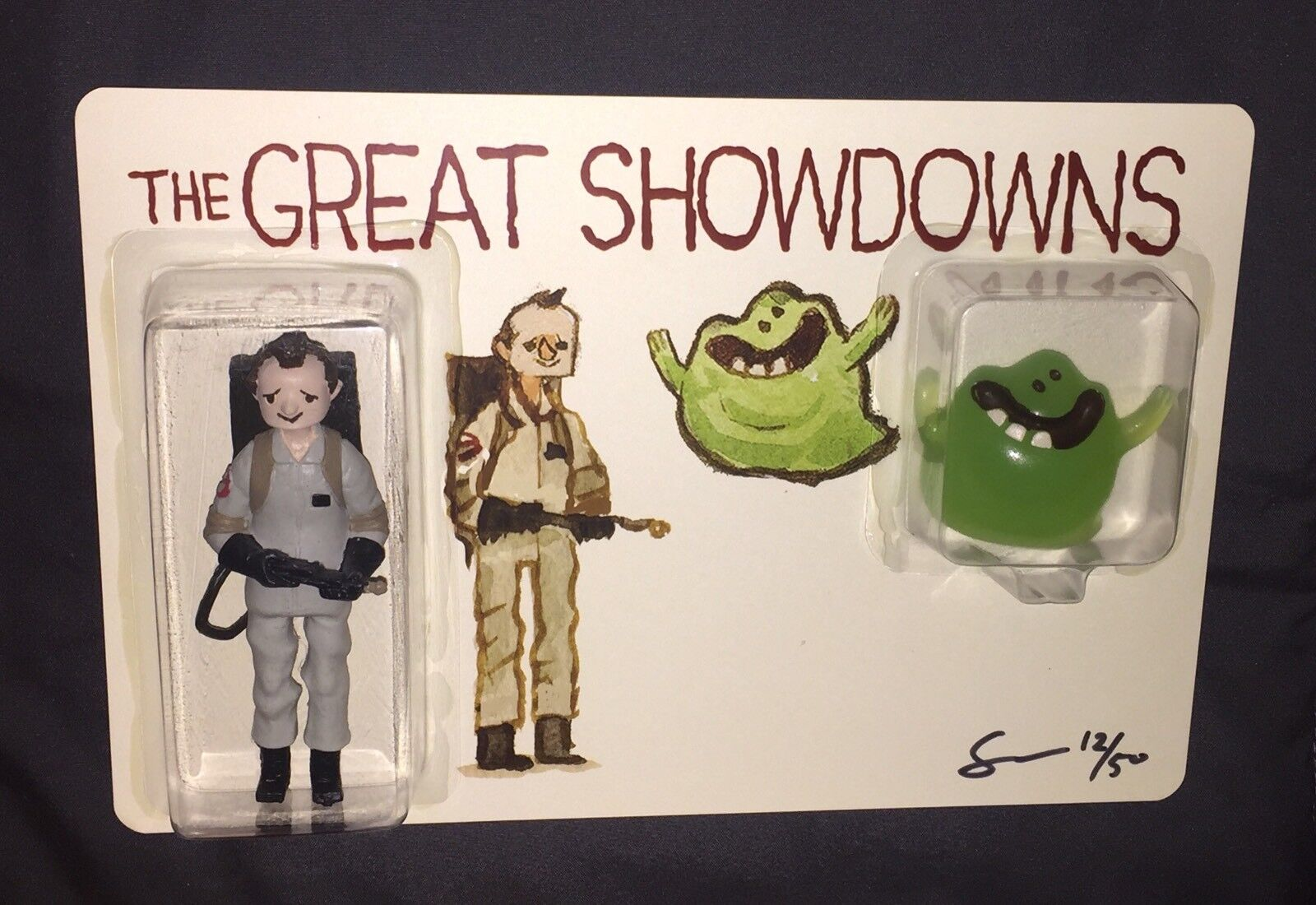 DKE Toys Great Showdowns by Scott C 2017 SDCC Exclusive Figure Ghostbusters RARE