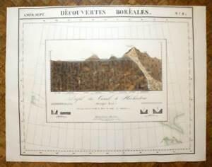 Rechercher Des Vols Canal De Huehuetoca Carte Geographique Amérique N°8 Vandermaelen 1827 Map Forfaits à La Mode Et Attrayants