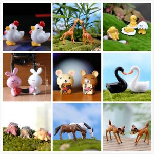 Lot-Garden-Ornament-Miniature-Figurine-Craft-Plant-Pots-Fairy-Dollhouse-Decor