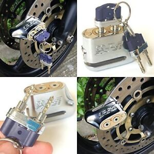 Anti-theft-Dual-Key-Motorbike-Motorcycle-Scooter-Disc-Brake-Lock-Anti-Pick-Lock