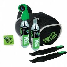 Genuine Innovations Road Bike Seat Small Bag Tyre Inflation CO2 Repair Kit