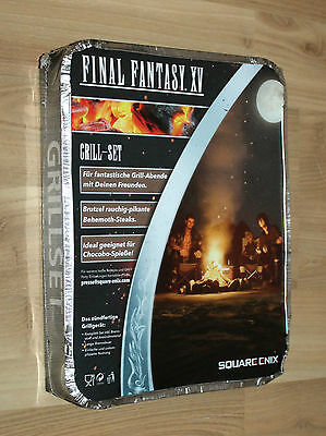 Final Fantasy XV 15 Promo BBQ Barbecue Grill-Set Sqaure Enix Extremely Rare