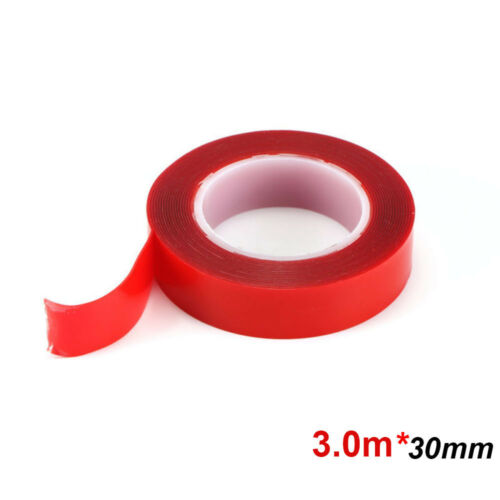 Waterproof Car Sticker No Traces Double-sided Adhesive Acrylic Transparent Tape