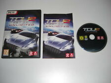 TEST DRIVE UNLIMITED 2 Pc DVD Rom Original with Manual - FAST DISPATCH