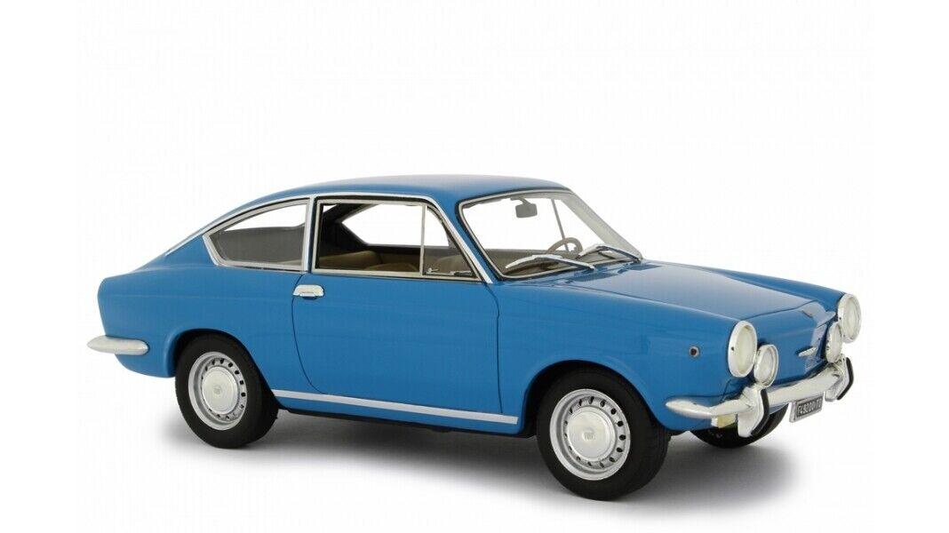 Fiat 850 Sport Coupè 1968 Blau LAUDORACING 1 18 LM118E