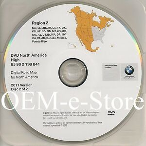 2003 2004 2005 2006 2007 2008 Bmw X3 Z4 Navigation Oem Dvd West Coast Map Update Ebay