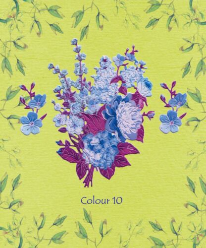 10 Colours//Mixed//Plain !NEW Tattered Lace Spring Beauty Die Cuts