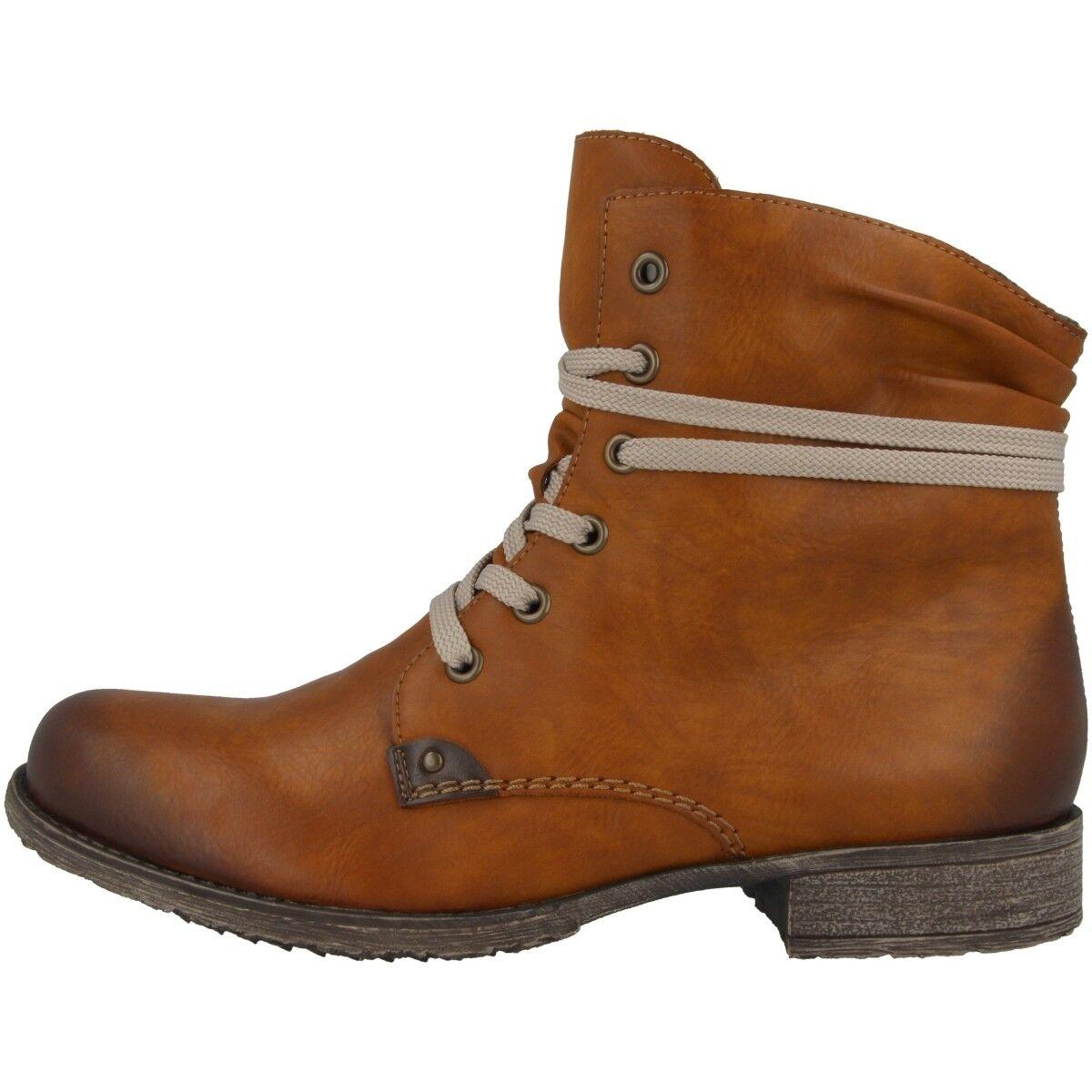 Rieker Eagle-Ambor Schuhe Antistress Stiefelette Schürschuhe Stiefel 70829-24