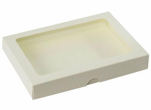 cremig RzP Rechteckig A5 Schachtel Geschenkbox Box Karte Fenster 15,8x22 300g