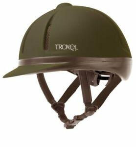 Troxel-Legacy-Gold-Reithelm-schwarz-Gr-S-53-56-cm-vestellbar